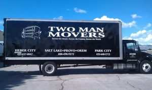 Two Man Movers moving truck